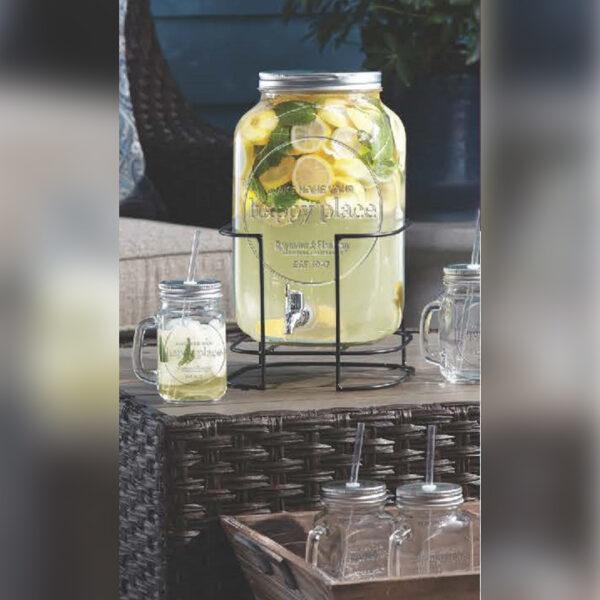 10pc Beverage Dispenser Set
